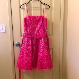 New pink dress with ❇️